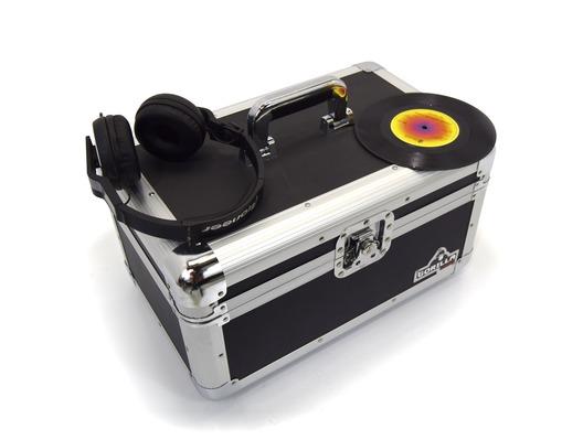 "Gorilla 200pcs 7"" LP Vinyl Records Flight Storage Case"