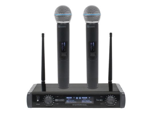 W Audio TM 80 Twin Handheld UHF System