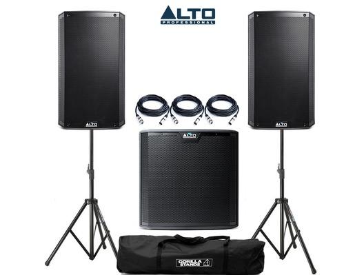 Alto TS312 & Alto TS215S Sub Package