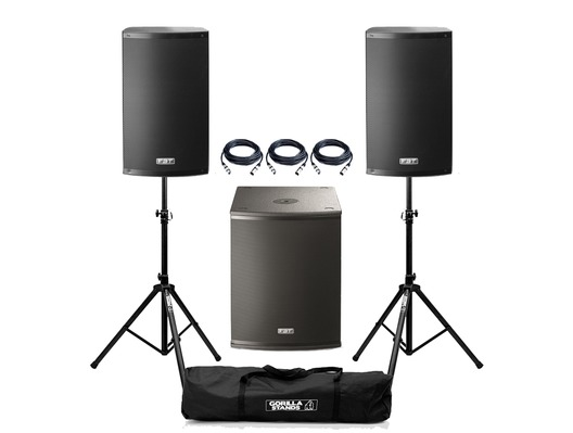 FBT X-1500 Active PA System Package