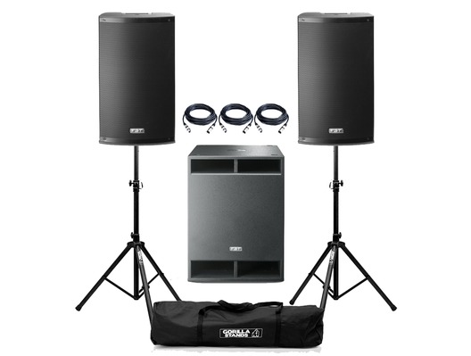 FBT X-3500 Active PA System Package