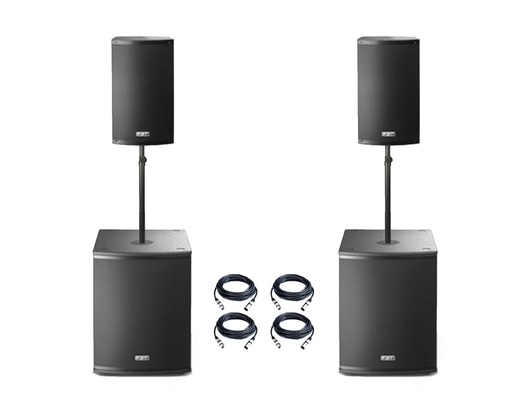 FBT X-2000 Active PA System Package
