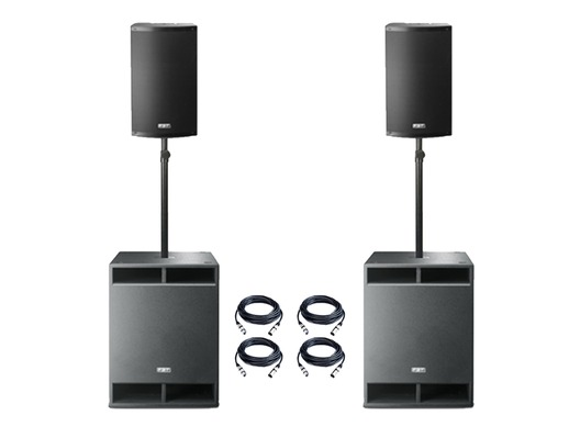 FBT X-4000 Active PA System Package