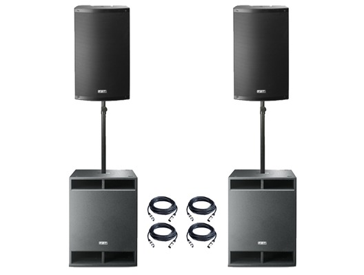 FBT X-5000 Active PA System Package
