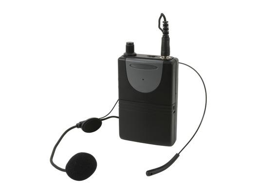 QTX Neckband Mic + Beltpack for QXPA-Plus & PAV8 863.8MHz