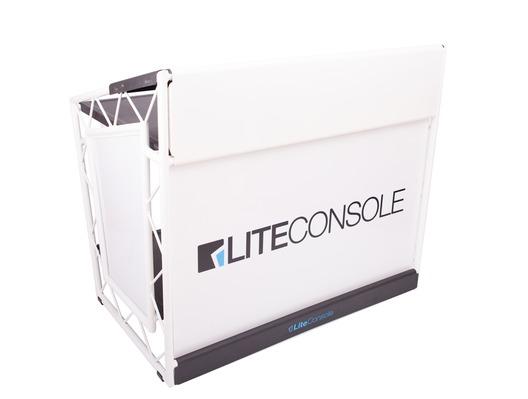 LiteConsole XPRS White DJ Booth