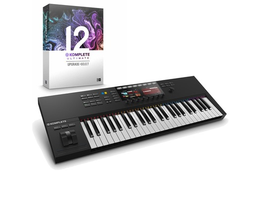 Native Instruments Kontrol S49 MK2 with Komplete 12 Ultimate