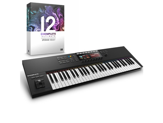 Native Instruments Kontrol S61 MK2 with Komplete 12 Ultimate