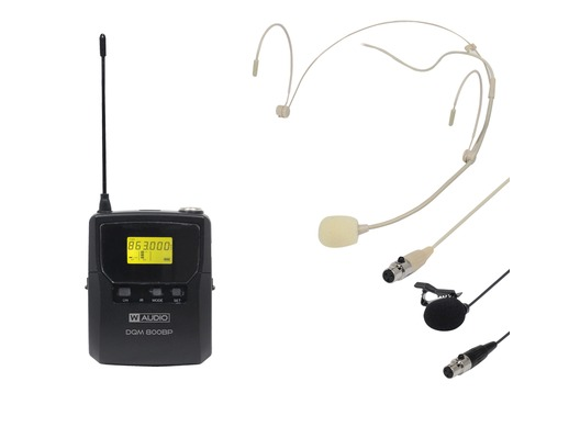 W Audio DQM 800BP Add On Beltpack Kit