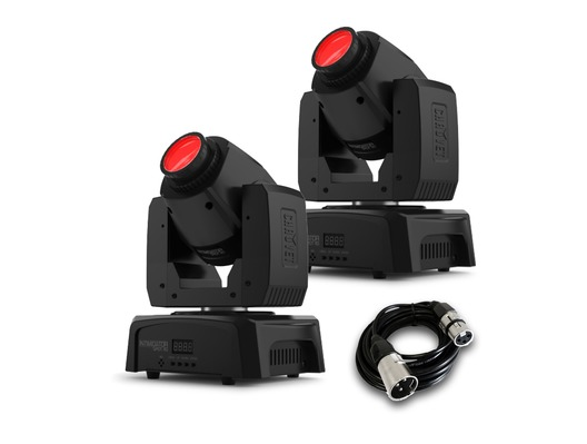 Chauvet Intimidator Spot 110 (Pair) with DMX Cable