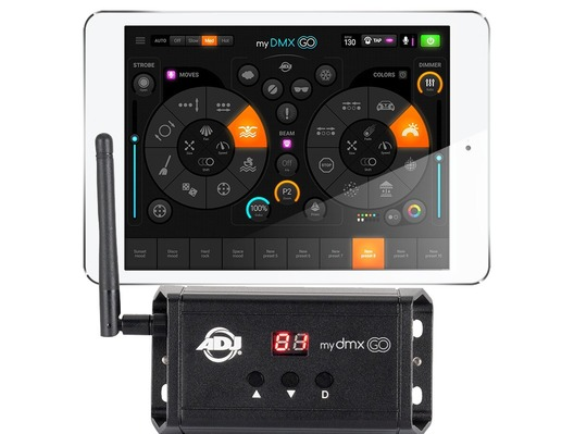 American DJ Mydmx GO Lighting Controller