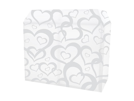 Equinox DJ Booth Heart Design Lycra