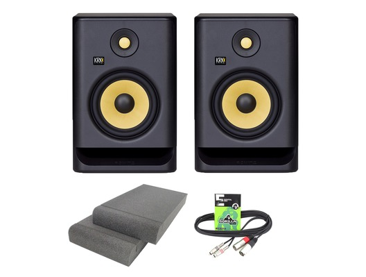 KRK Rokit RP7 G4 (Pair) with Pads & Cable