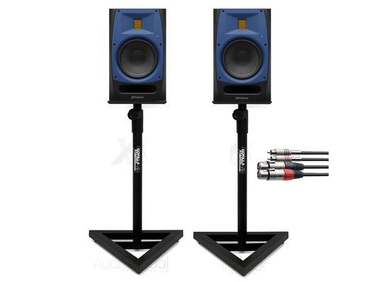 PreSonus R65 (Pair) with Studio Monitor Stands