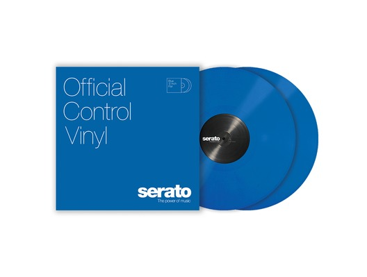 "12"" Serato Standard Colors (Pair) Blue"