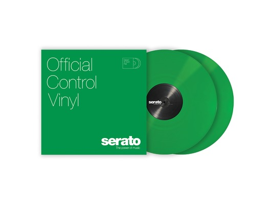 "12"" Serato Standard Colors (Pair) Green"