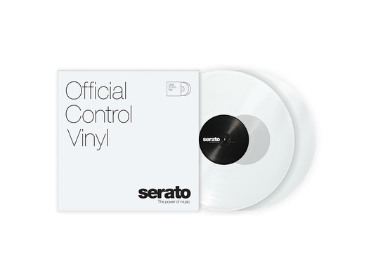 "12"" Serato Standard Colors (Pair) Clear"