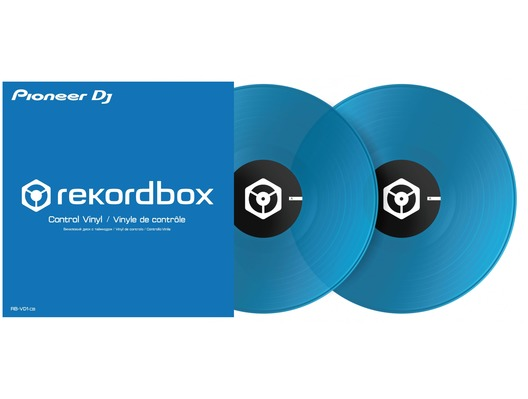 Pioneer RB-VD1-CB Rekordbox DJ Control Vinyl (Blue)