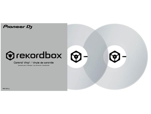 Pioneer RB-VD1-CL Rekordbox DJ Control Vinyl (Clear)