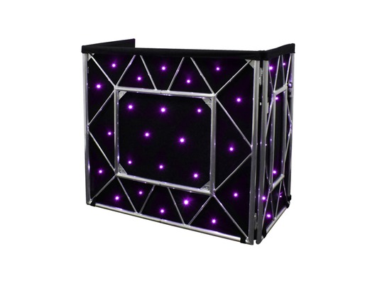 Equinox Truss Booth Quad LED Starcloth System