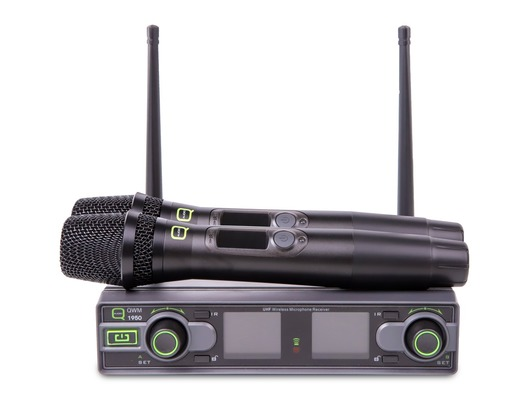 Q-Audio QWM 1950 HH Wireless Mic System (863 - 865MHz - CH70)