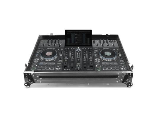 UDG Ultimate Flight Case Denon DJ Prime 4 - Silver (Plus Wheels)