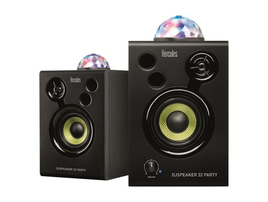 Hercules DJ Monitor 32 Party Speakers