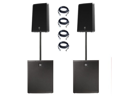 Electro-Voice ZLX12P & ELX118P Active PA Package