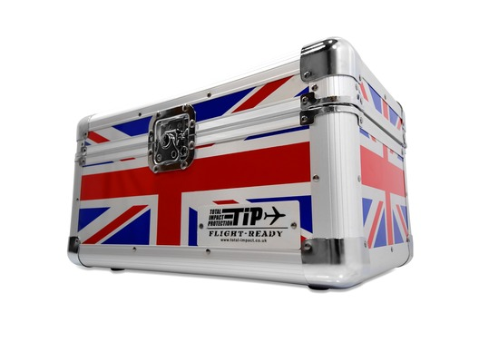 "Total Impact TIP 200 7"" Vinyl Record Carry Case (Union Jack)"