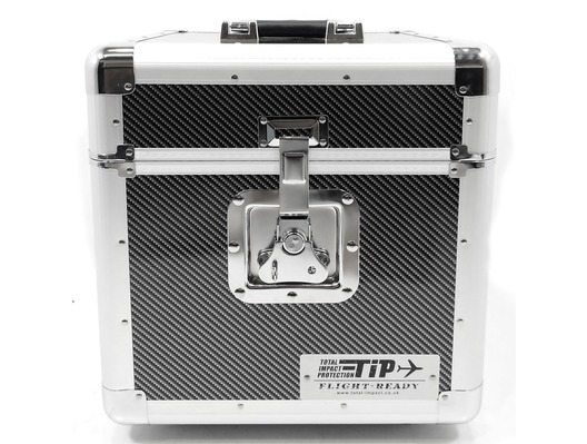 Total Impact TIP LP100 Vinyl Record Carry Case - Carbon