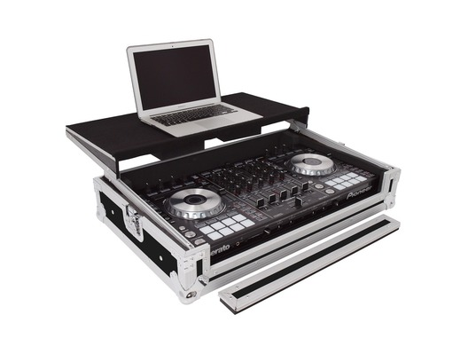 Total Impact Flight Case Workstation for Pioneer DDJ-1000 inc SRT