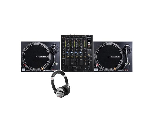 Reloop RMX-60 + RP-4000 MkII with Headphones