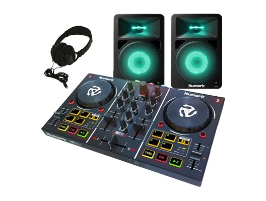 Numark Party Mix With N Wave 580l Amp Hf125 Getinthemix Com