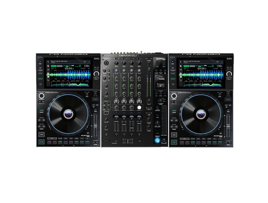 Denon DJ SC6000 Prime Media Player (Pair) + X1850 Prime Mixer Package