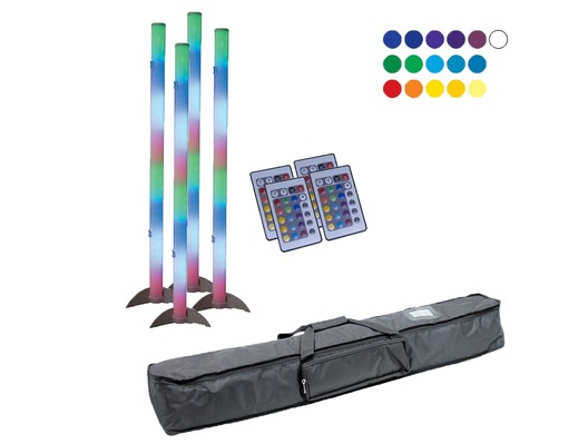 American DJ LED Color Tube 2 x4 with Bag