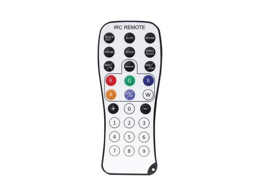 LEDJ Infrared Remote for Various Fixtures