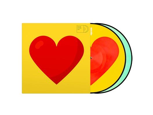 "Serato Emoji #3 Heart/Donut Ltd Edition 12"" Control Vinyl"