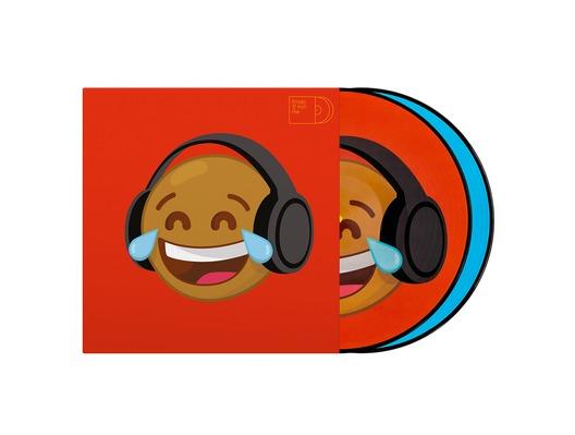 """Serato Emoji #4 Think/Crying Ltd Edition 12"""" Control Vinyl"""