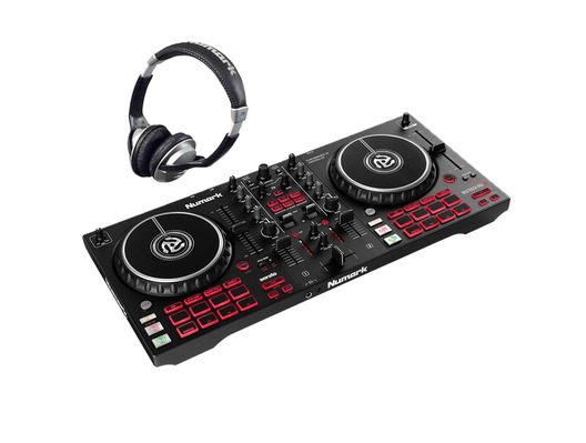 Numark Mixtrack Pro FX with HF125 Headphones