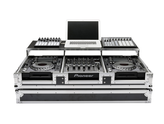 Magma Multi-Format Workstation Case DJ Player/Mixer Set