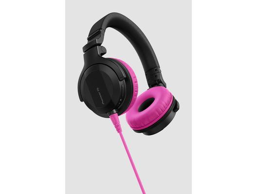 Pioneer HDJ-CUE1 Headphones With Pink Accessory Pack