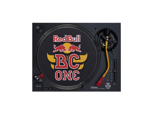 Technics SL-1210 MK7-R Turntable Red Bull Edition