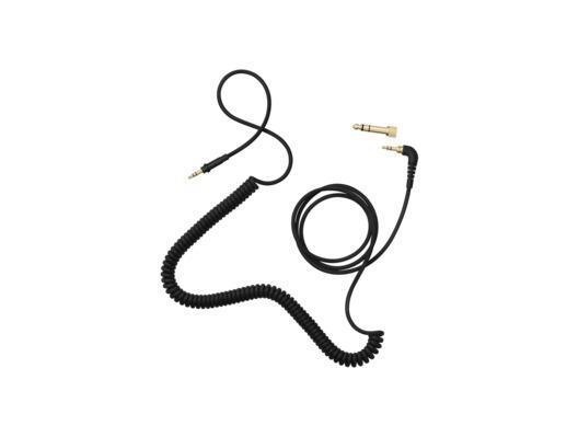 AIAIAI TMA-2 - C02 Cable (1.5m Coiled) + Adaptor