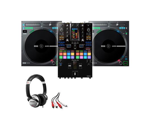 Rane TWELVE MKII (x2) + Pioneer DJM-S11 w/ Headphones + Cable