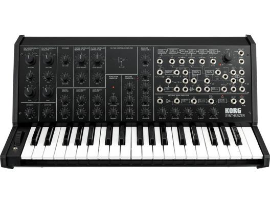 Korg MS-20 FS Monophonic Analogue Synthesizer Black