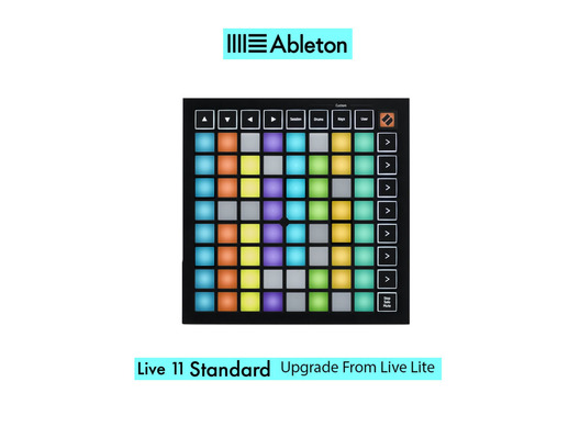 Launchpad Mini MK3 w/ Live 11 Standard UPG from Live Lite