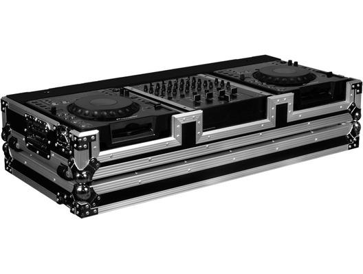Flight Ready FRDJCD12W CD DJ Mixer Coffin Case