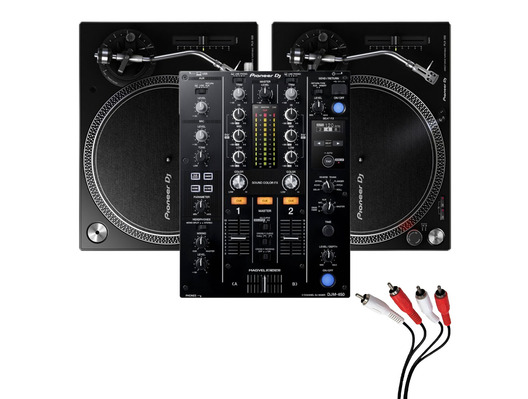 Pioneer PLX-500 and Pioneer DJM-450 Package