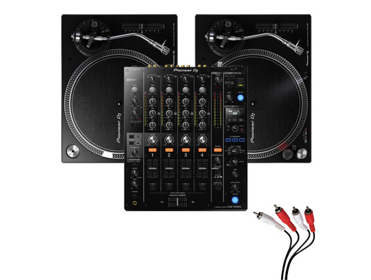 Pioneer PLX-500 and DJM-750 MK2 Package
