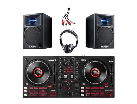 Numark Mixtrack Platinum FX with N-Wave 360 & Headphones